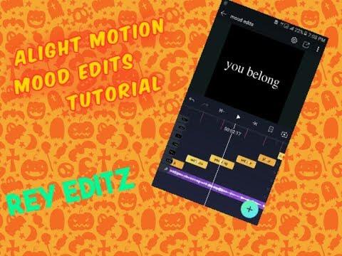 Alight motion mood edits tutorial thumbnail