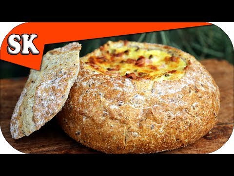 CHEESE DIP IN A COB LOAF – Series of Dips on Steve's Kitchen