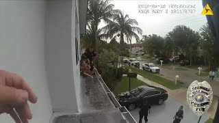 Terrified Kids Rescued From Ledge of Florida Home