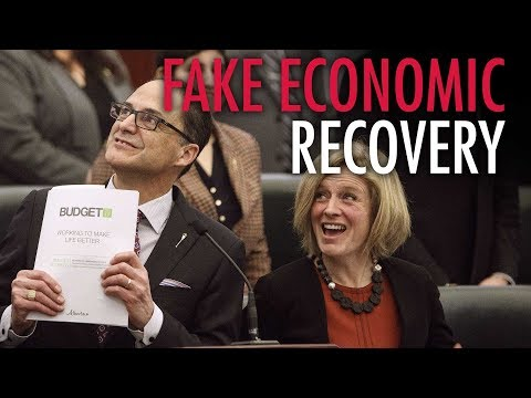 "Alberta's economic recovery just ""a Ponzi scheme"""