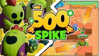 500 TROPHY SPIKE! - Legendary Spike Tips u0026 Best Gamemodes! | Brawl Stars
