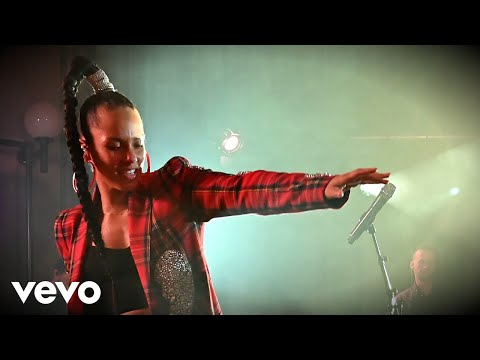 Alicia Keys - Fallin' In The Live Lounge