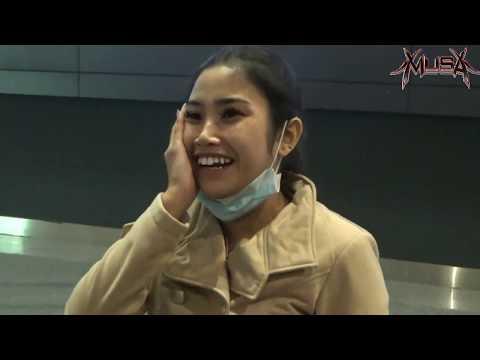 Momen Kedatangan ANIK ARNIKA Di Bandara  TAIWAN