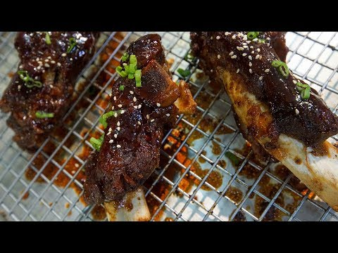 Oven Smoked Beef Ribs | SAM THE COOKING GUY
