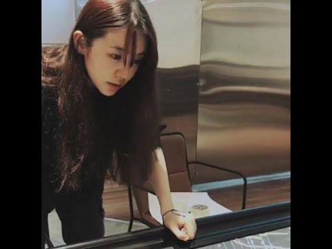 [2017-04-06] Yoon Eun Hye #윤은혜 posted a video on insta at her Cafe 'By Grace' in Bangkok
