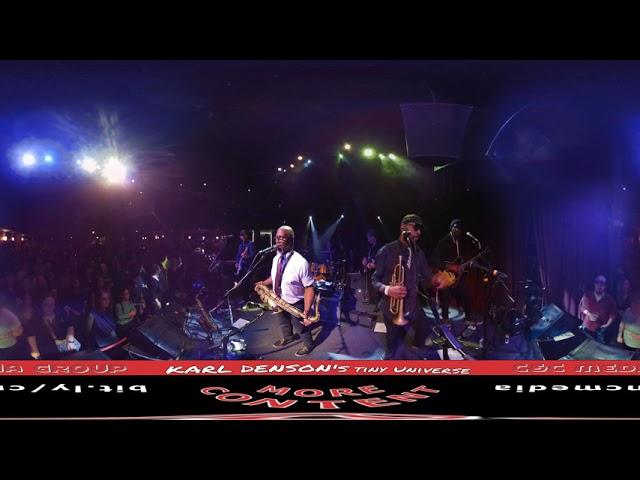 KARL DENSON'S TINY UNIVERSE : un des meilleurs groupe de musique Live