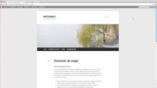 Capsule - Insérer une image dans une page dans Wordpress 3