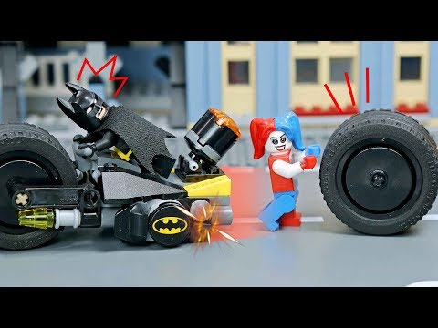Lego Batman Building: Harley Quinn Build Gotham City Cycle Chase Part 2