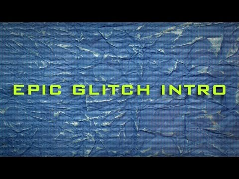 epic glitch intro template tagged templates velosofy
