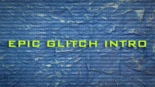 Epic Glitch Intro Template Sony Vegas Pro