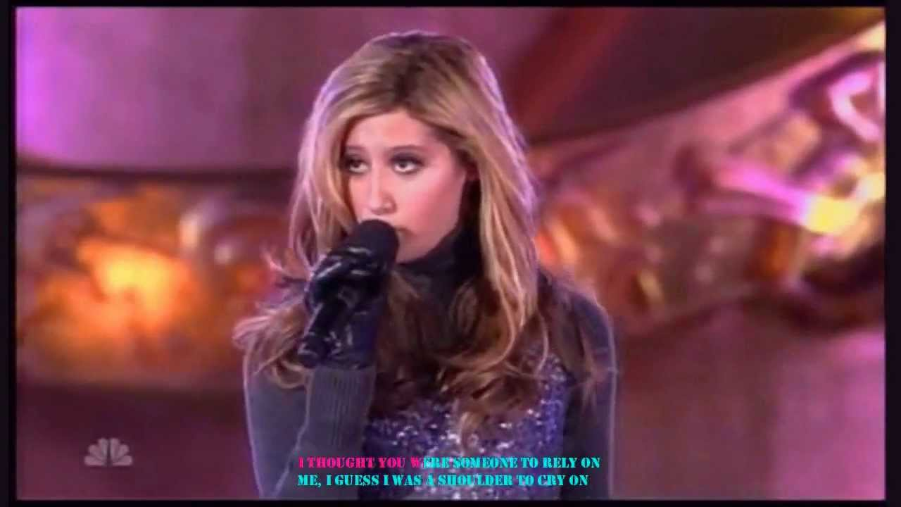 Ashley Tisdale - Last Christmas (Karaoke With Lyrics On Screen ...
