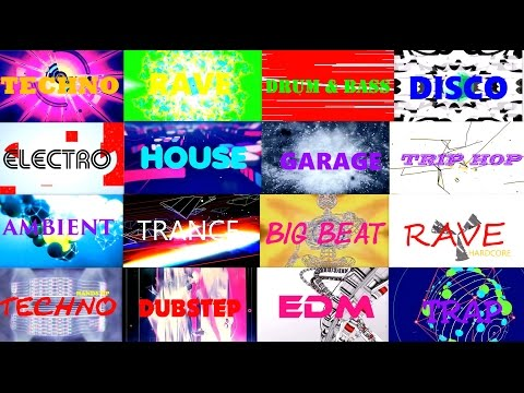 ELECTRONIC MUSIC GENRES : 90s EDITION ☼