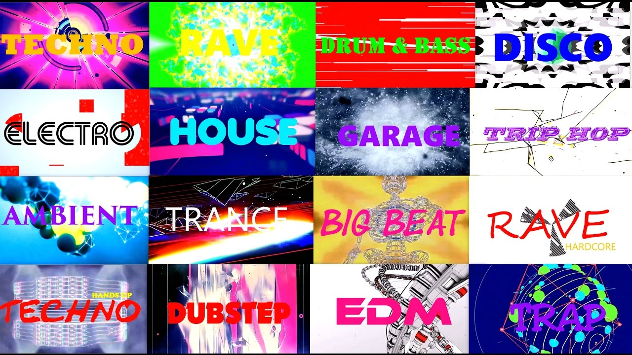 Electronic music genres 90s edition youtube for Best 90s house music songs