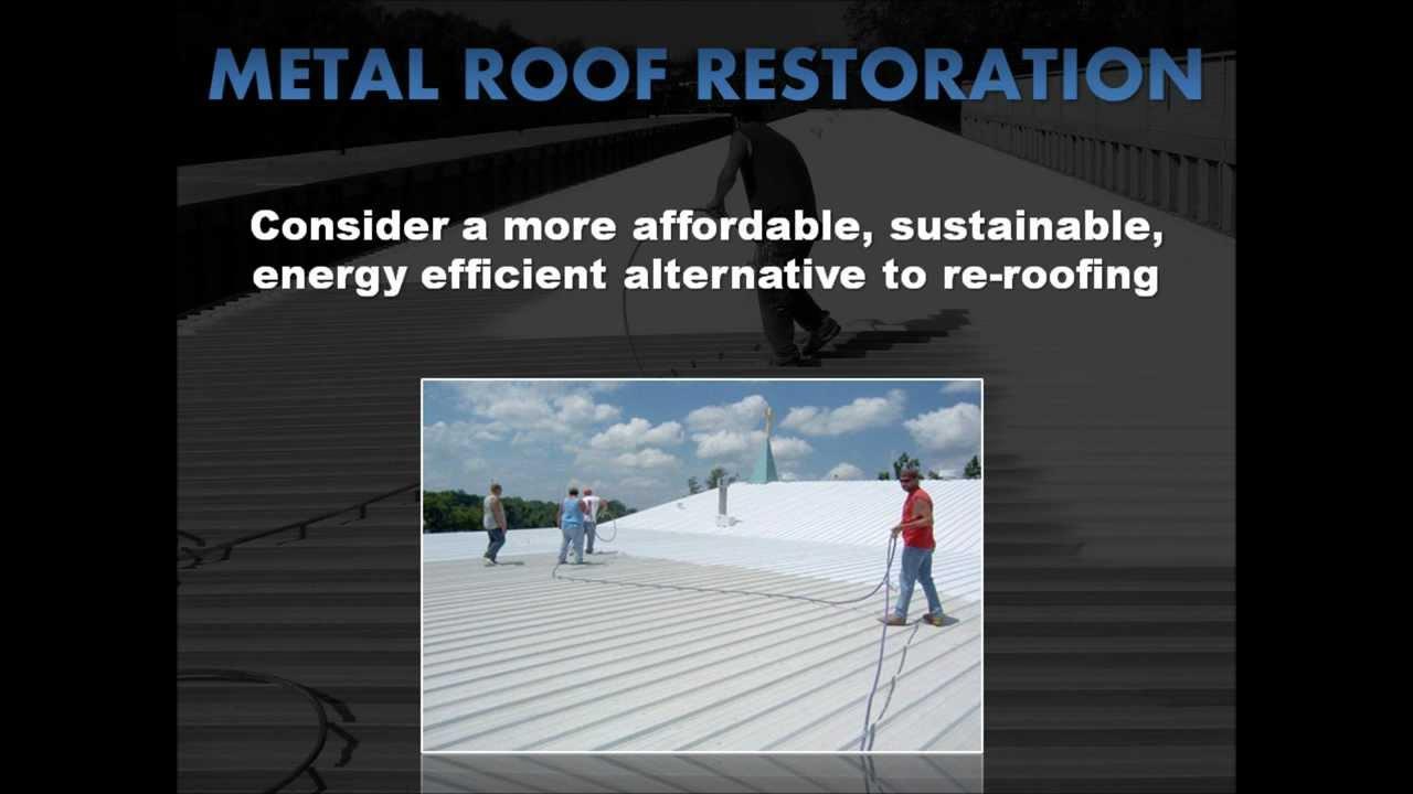 Metal Restoration Roof Coatings Rhino Tuff Roofing