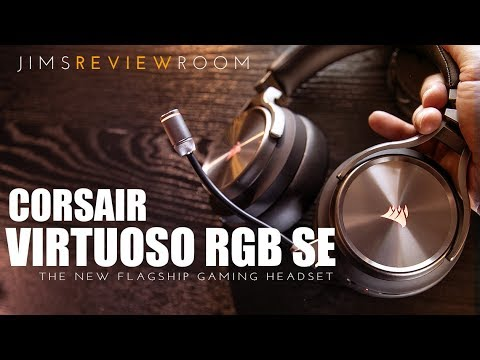 CORSAIR VIRTUOSO 7.1 Surround PC/PS4 Headset - REVIEW with 3D AUDIO samples