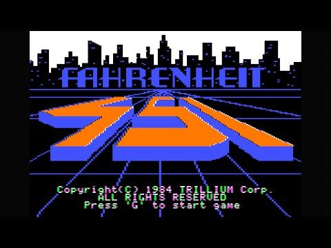 Fahrenheit 451 walkthrough (Apple II - Trillium)