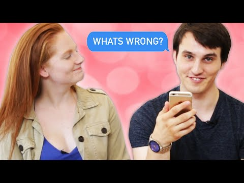 Thumbnail: Couples Read Their Fights Over Text