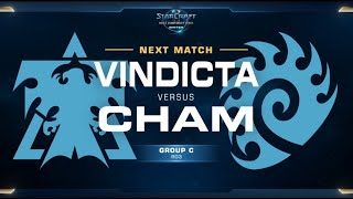 Vindicta (T) Vs Cham (Z) Game 2 WCS WINTER [ES] - Grupo C América