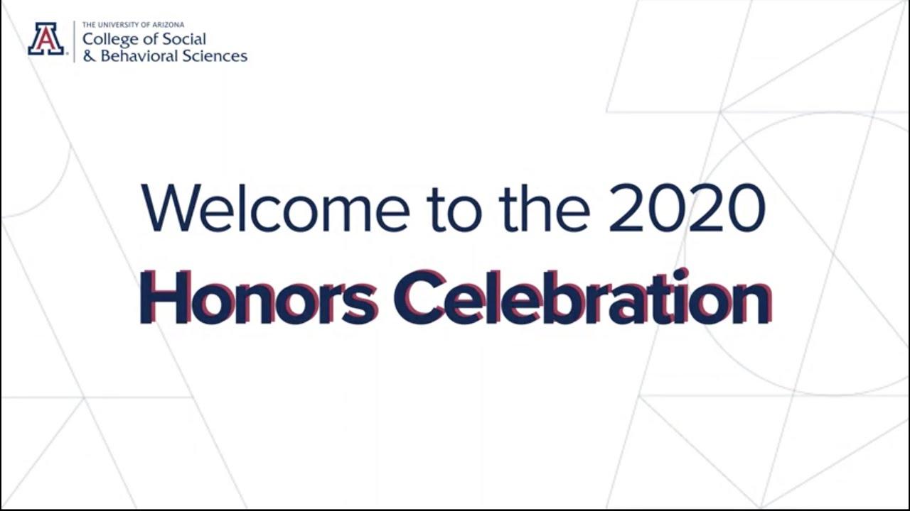 2020 Honors Celebration