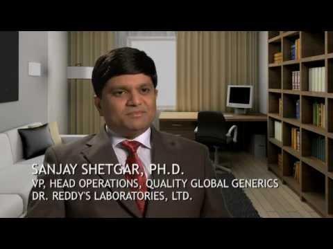 Sanjay Shetgar, Dr. Reddy's Laboratories