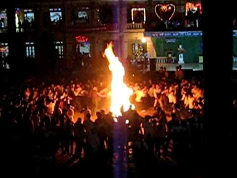 Đêm lửa trại trường THPT Yên Lạc