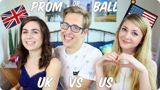 Prom or Ball? | British VS American | Evan Edinger & Dodie Clark & Noodlerella