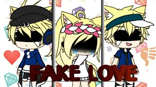 Fake Love √Music Video√ •Gacha Life•