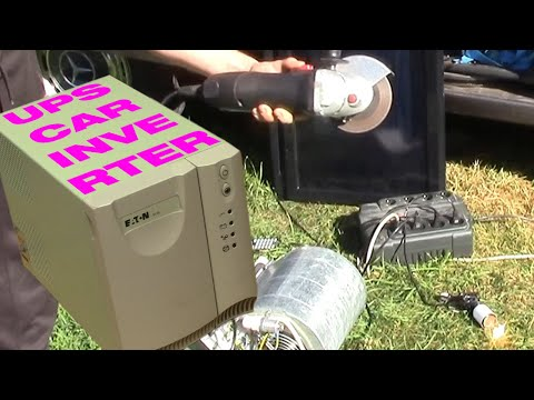 Turning a UPS into a 320 W splash-resistant, pure sine, under-car inverter