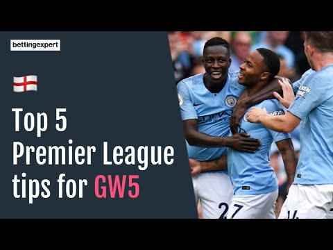 Top 5 Premier League Betting Tips for Gameweek 5