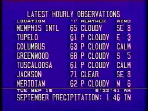 Weather Channel local forecast (1990) – Weather Point