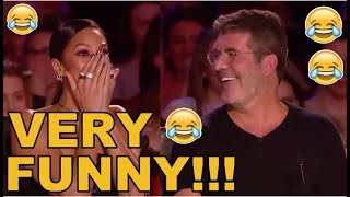 BEST TOP 10 HILARIOUS COMEDIANS ON BGT AND AGT!