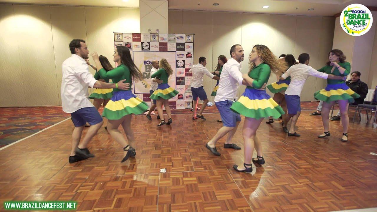 2015 - Saturday - Boston Brazilian Dance Festival - Boston Moves and Vibes  Forro Performance