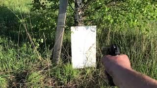 тестовый отстрел травматического пистолета GRAND POWER T12 (Словакия)