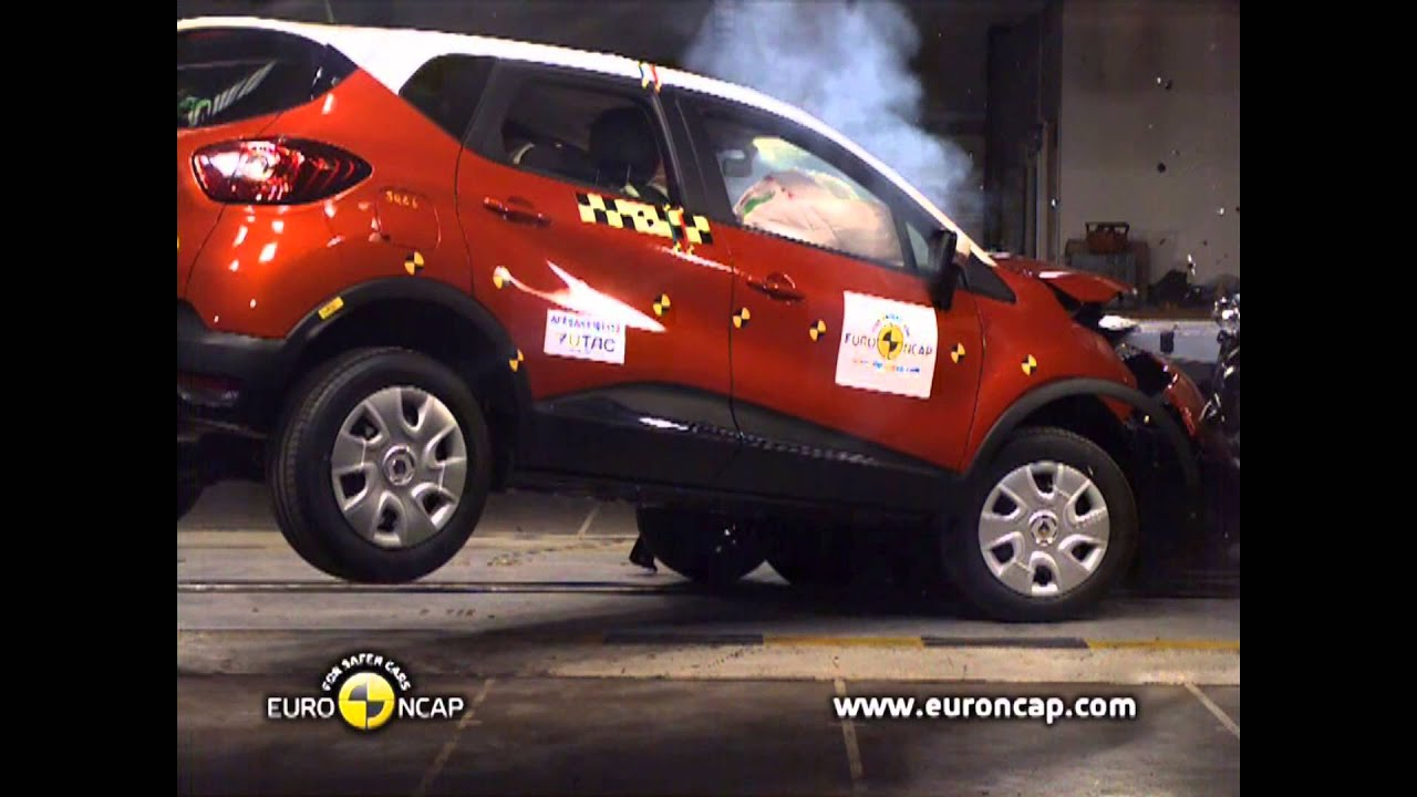 Renault Captur Crash Tests 2013 Doovi