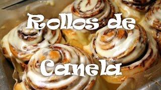 Cómo hacer Rollos Cinnabon