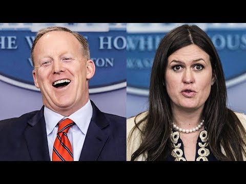 Sean Spicer Wants To Know Why People Are Making Fun of Sarah Huckabee Sanders