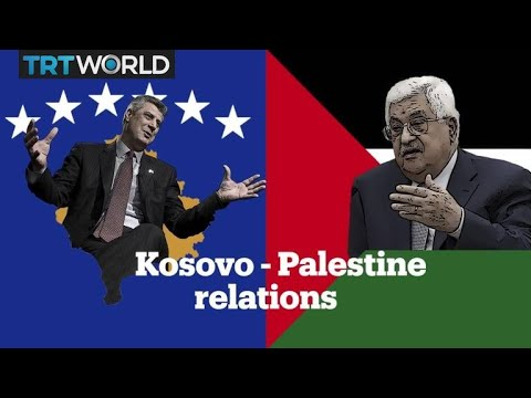 Why do Kosovo and Palestine oppose each other?