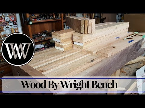 Hand Tool Woodworking Bench 3 – Wood By Wright Roubo English Hybrid Workbench