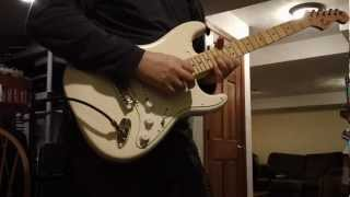 Sixty Second Jams #4 - Funky Blues Jam - Eleven Rack - Strat - Green Rhino - Holy Grail - RE-20