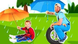 Rain Rain Go Away Song #1 | Mirik Yarik Nursery Rhymes & Kids Songs