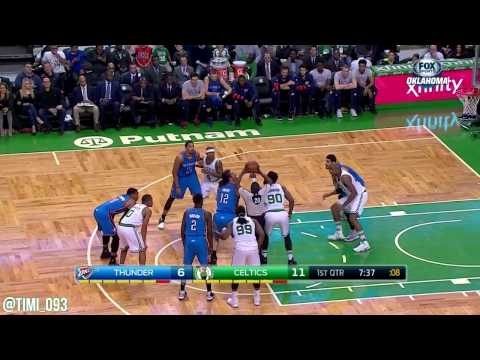 Amir Johnson Highlights vs Oklahoma City Thunder (17 pts, 5 ast)