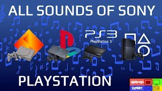 ALL SOUNDS OF SONY PLAYSTATION