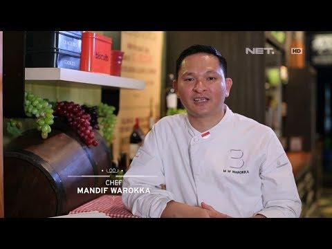 Chef's Table - Chef Mandif Warokka An Award Winning Talented Executive Chef