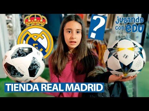 Tienda REAL MADRID y camisetas con nuestros nombres