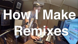 "Inside the Studio ""LA LA LA"" Remix - Mike Tompkins"