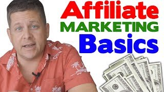 Affiliate Marketing For Beginners **BASICS** 3 Step Tutorial (Oct 2017)