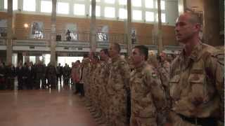 Prime Minister Orbán welcomes Hungarian troops returning from Afghanistan