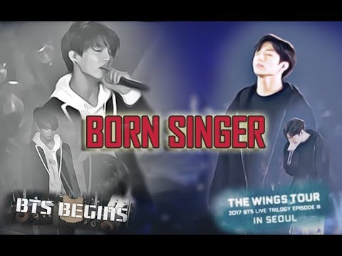 BORN SINGER - BTS | Look Back from BTS Begins Concert 2015 -- to Wings Tour 2017