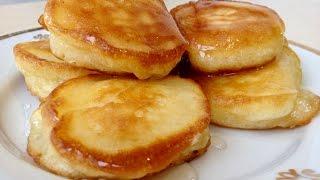Оладьи (Оладушки) Пышные и Мягкие | Pancakes/Fritters  Recipe, English Subtitles