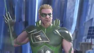 injustice 2 green arrow vs the flash xbox one